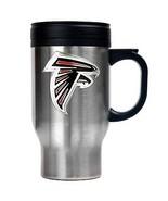Atlanta Falcons Stainless NFL Football 16 oz Travel Mug Sold By Neoplex - $24.70