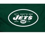 NEW YORK JETS Logo 3'x 5' LICENSED Banner Flag
