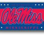 Mississippi Rebels Ole Miss 3 x 5 NCAA Banner Flag