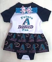 Embroidered Infant Bodysuit Skirt Arizona Diamondbacks Future Fan Retro ... - $21.95