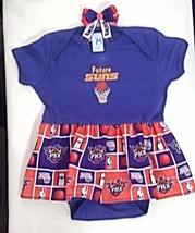 Embroidered Infant Bodysuit Skirt Phoenix Suns Future Fan 24 months + ba... - $21.95