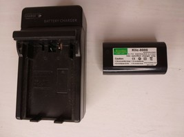 Digital Video Battery Charger SG-IC032 + One Klic-8000 Battery for Kodak... - $15.95