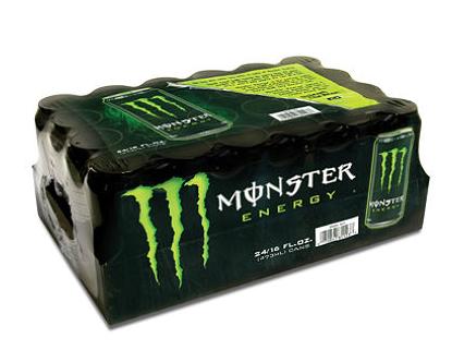 Monster energy drink  16 oz.  24 pk.