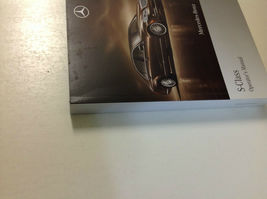 2010 Mercedes Benz S Klasse S550 S600 S Modelle Owners Manuell OEM Buch X image 3