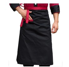 Nanxson Unisex Kitchen Hotel Food Service Bistro Chef Apron CF3008 black - $10.23