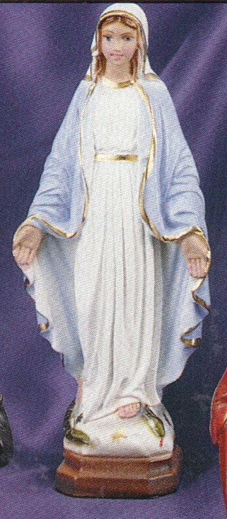 Our lady of grace 8 inch statue