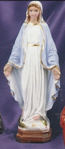 Our lady of grace 8 inch statue thumb200