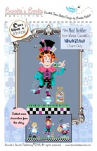 The Mad Hatter Alice Wonderland series cross stitch chart Brooke's Books - $5.40