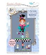 The Mad Hatter Alice Wonderland series cross stitch chart Brooke's Books - $5.40