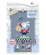 The White Rabbit Alice Wonderland series cross stitch chart Brooke's Books - $5.40
