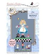 Alice from the Alice Wonderland series cross stitch chart Brooke's Books - $5.40