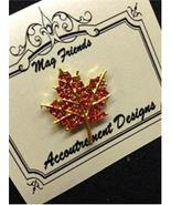 Glamorous Red Maple Leaf Magnet Mag Friends Nee... - $12.60