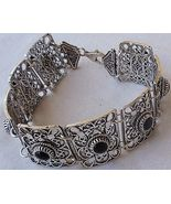 Rectangle onyx bracelet  - $130.00