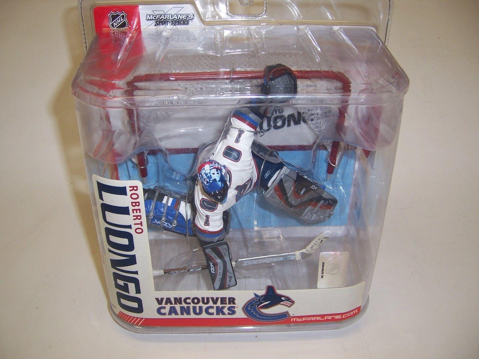McFarlane Sportspicks Figure NHL Series 15 Roberto Luongo Vancouver Canucks NRFB
