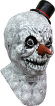 Frosty Jack Evil Snowman Latex Halloween Mask - £30.09 GBP