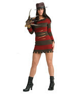 Sexy Ms. Krueger Nightmare on Elm Street Costume Dress - £59.35 GBP