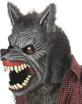 WEREWOLF ANI-MOTION HALLOWEEN MASK - £48.92 GBP