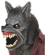 WEREWOLF ANI-MOTION HALLOWEEN MASK - £49.39 GBP