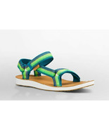 Womens TEVA Original Universal Ombre Deep Teal Sandals NEW in Box - $50.20