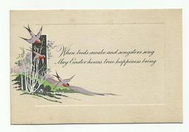 Vintage Engraved Easter Greeting Card 1920's Unused - $9.99