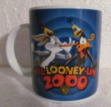2000 Mil-LOONEY-Um Warner Bros Looney Tunes Cartoon Coffee Mug 11oz - $17.99