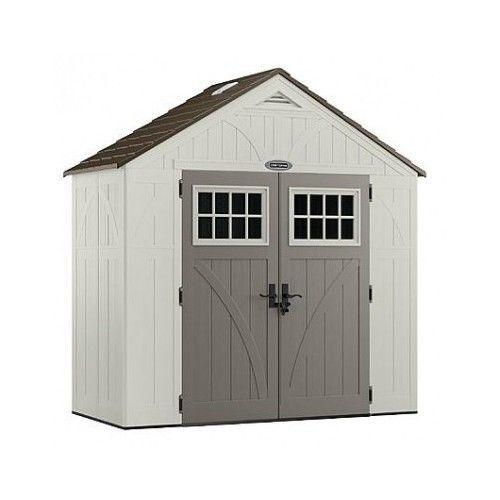 Storage Shed Outdoor Garage Tools Hardware Garden Lawn Building BackYard Barn
