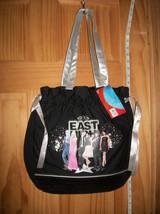 Disney Girl Fashion HSM High School Musical Handbag Purse Gray Strap Han... - $11.39