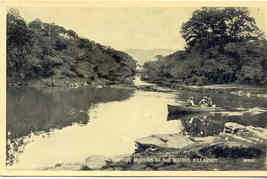 Meeting of The Waters Killarney Ireland Vintage Post Card - $6.00