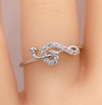 2.00 Ct Round Cut Diamond Engagement Wedding Ring 14k White Gold Finish - $180.99
