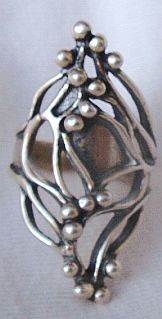 Yufi silver ring