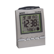 Teledex Inc Radio Control Desk Clock Month, Day, Date , Moon Phase 1273-... - $33.99
