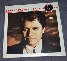 sealed LP Robert Palmer Heavy Nova 1988 Simply Irresistable Early in the... - $10.98