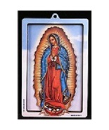 Our Lady of Guadalupe - 3D Wood Lazar Cut Plaque - $19.99