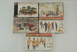 MiniArt Lot of 5 Model Kits Beer Bottles Water Pump Luggage Soviet Tank ... - $77.22