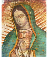 "Our Lady of Guadalupe - Picture 6""x 8"" - ""Bust"" Image - $4.95"