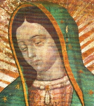 """Our Lady of Guadalupe - Picture 6""""x 8"""" - """"Bust"""" Image image 2"""