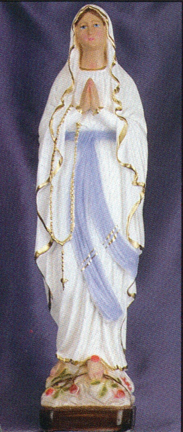 Our lady of lourdes 12 inch statue