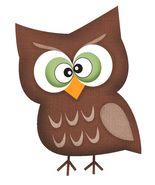 Happy Monster Owl-Digital Download-ClipArt-ArtClip-Digital Art       - $4.00