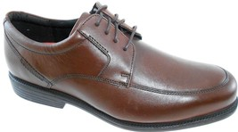 Rockport Charles Road Apron Toe Men's Waterproof Leather Oxford Wide(W), V82592 - $77.99