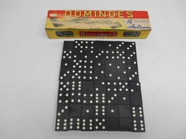Old Vintage HALSAM DOUBLE SIX DOMINOES #623-W 28 Tiles Classic Game COMP... - $29.69