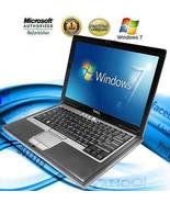 DELL Latitude Laptop Computer Core 2 Duo 40GB WiFi DVD Windows 7 Notebook HD - $100.00