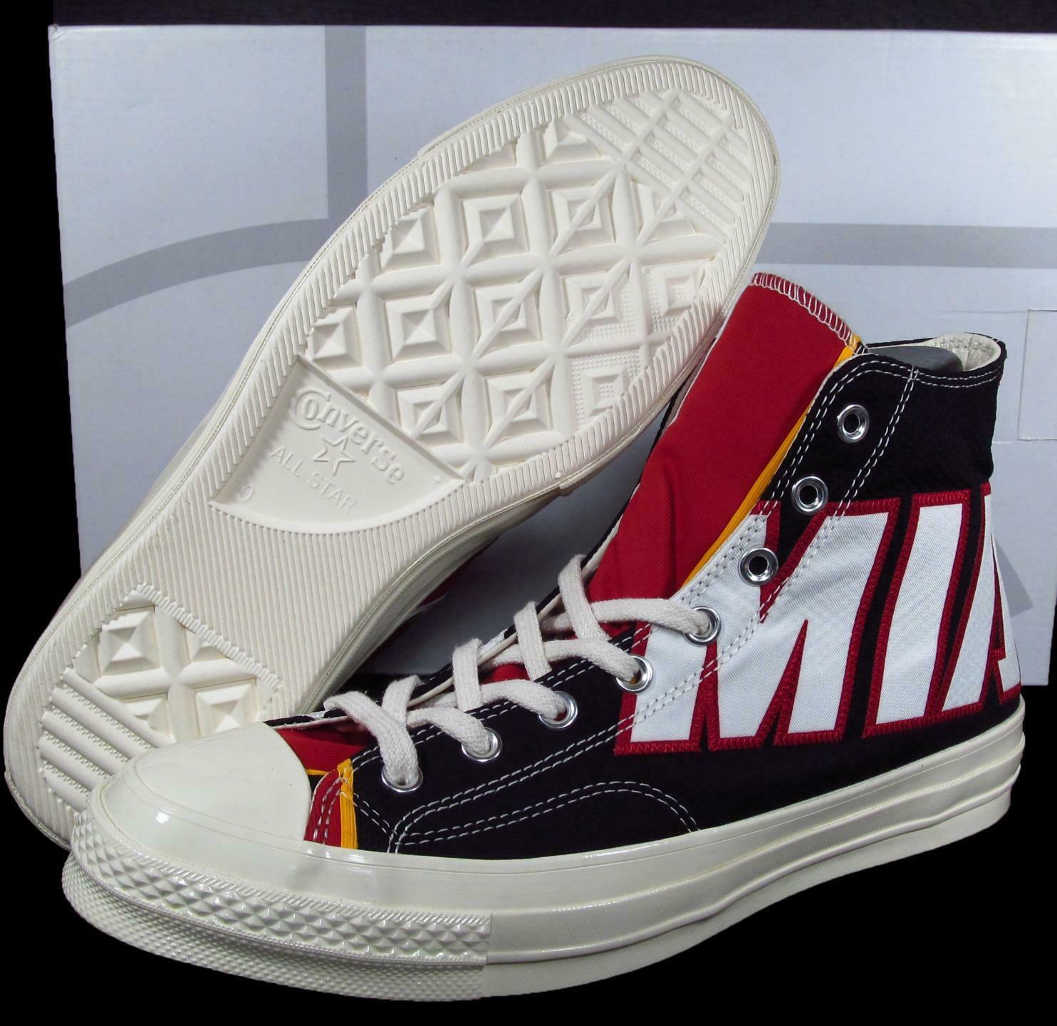 Converse Miami Heat Gameday Jersey Sneaker Chuck Taylor 70 Hi 40/250 (8 MEN) - $125.00