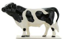 Hagen Renaker Miniature Cow Holstein Bull Ceramic Figurine image 3
