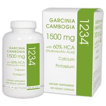 Garcinia Cambogia 1234 Calcium, Chromium Picolinate, and Potassium (180 ... - $49.99