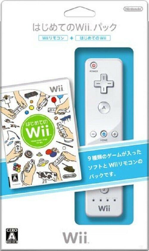 Nintendo Wii Hajimete no Wii: Your First Step to Wii(w/ Remote)