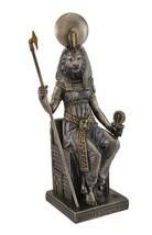Sitting Sekhmet Bronze Sculpture figure statue - $41.73