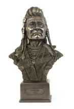 Chief Joseph Bust indian bronze sculpture statue figure - $81.46