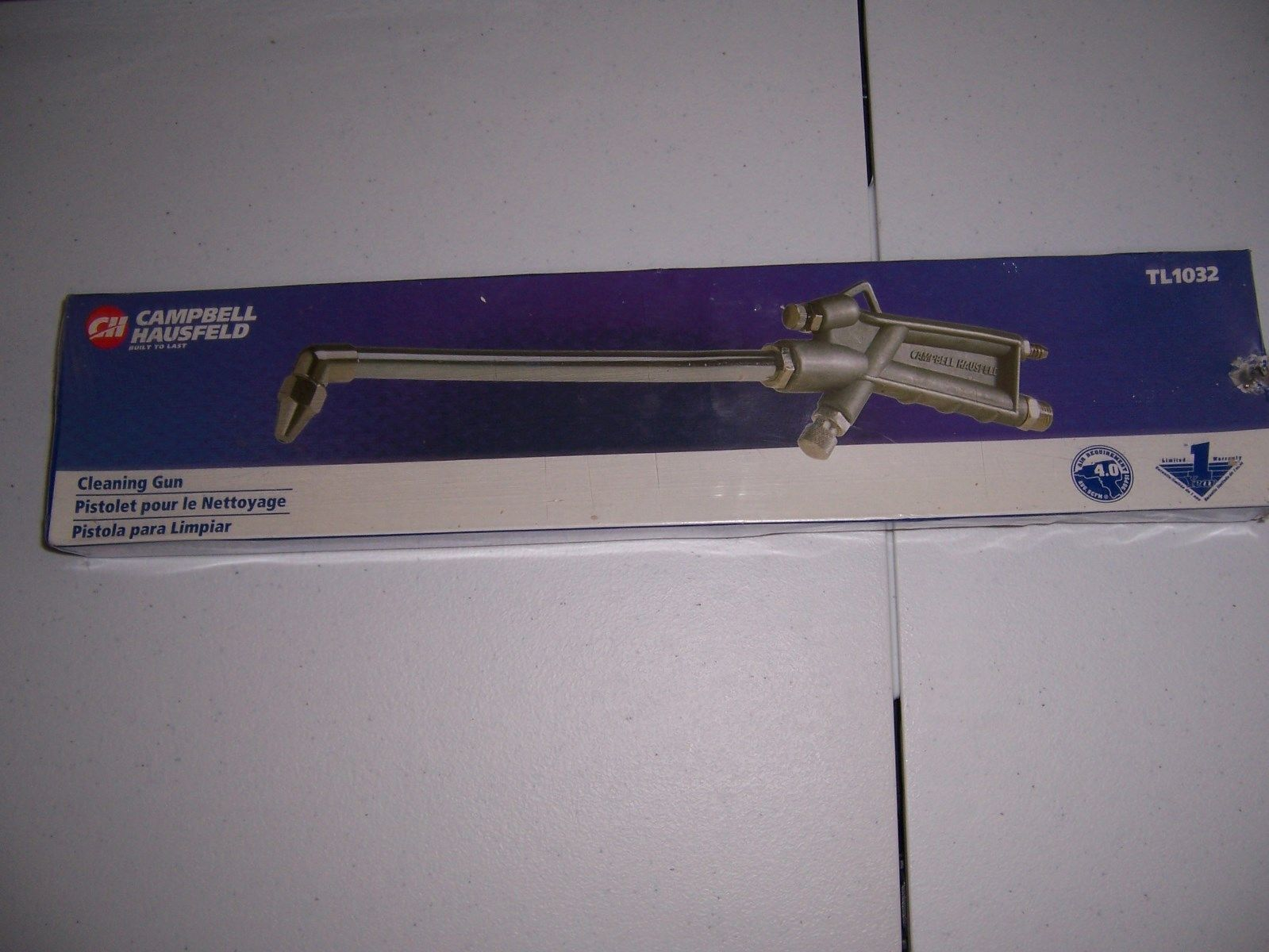 NEW IN PACKAGE CAMPBELL HAUSFELD TL1032 CLEANING GUN - $11.99