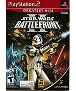 Star Wars: Battlefront II (Greatest Hits) PlayStation 2 COMPLETE w case ... - $17.09