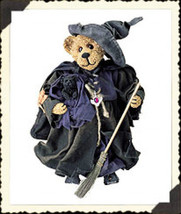 "Boyds Bears Crumpleton ""Tabitha"" 11"" Witch Bear- #73106 -NIB- 2001- Retired - $49.99"